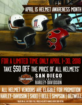 Helmet Promotion
