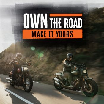 OWN THE ROAD!