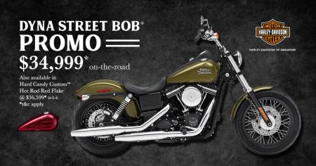 Dyna Street Bob® Promo