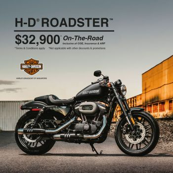 Roadster @ $32,900* on-the-road