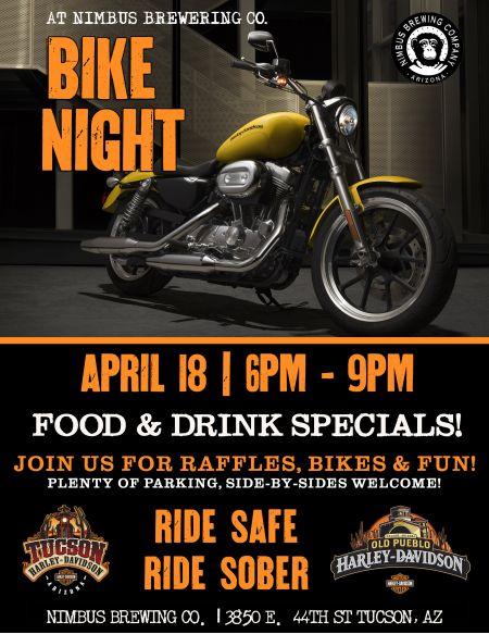 Bike Night at Nimbus Brewing Co.