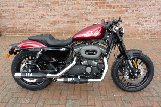 NEW 2017 XL1200CX Sportster Roadster Velocity Red Unregistered