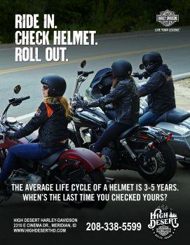 Free Helmet Check