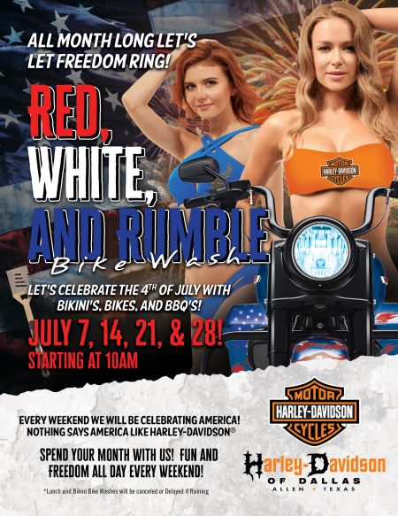 Red. White, and Rumble!
