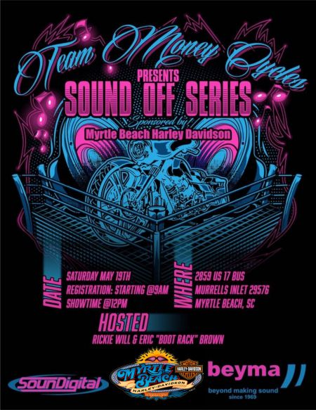 Team Money Cycles presents THE Sound Off Series