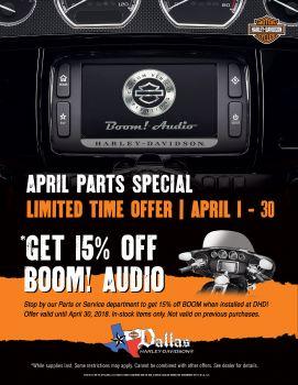 BOOM! Audio Parts Special