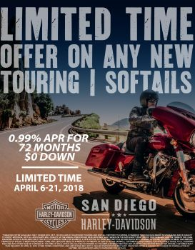 New Touring & Softail Promotion