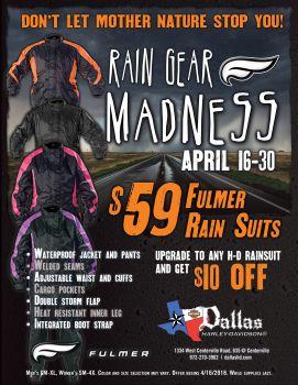Rain Gear Madness