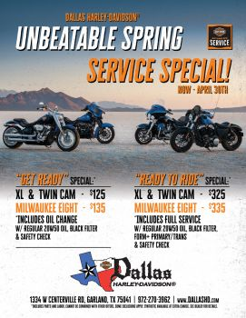 Unbeatable Spring Service Special!