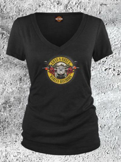 Женская футболка К/Р