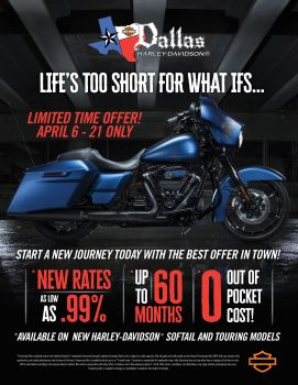 April Financing Offer