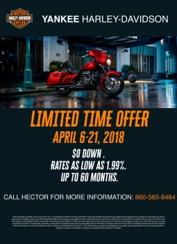 LIMITED TIME OFFER! NOW THROUGH APRIL 21, 2018