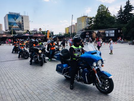 Harley on Tour 2018 - Čermeľský kvet
