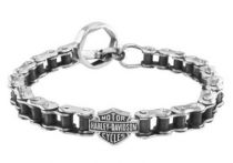 Harley Davidson Bike Chain Bracelet