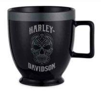 Harley-Davidson® Ceramic Skull Latte Mug
