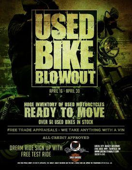 Used Bike Blowout