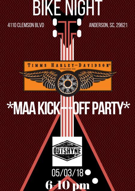 Bike Night / MAA Kick-Off Party