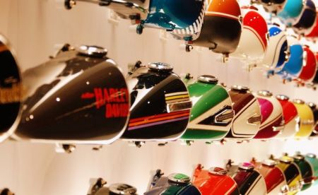 Motorcycle.com highlights the Harley-Davidson Museum.