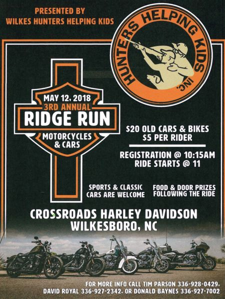 Hunters Helping Kids Ridge Run