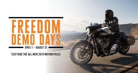 Izbrauc testa braucienā ar Harley-Davidson un laimē neaizmirstamu 115. jubilejas ceļojumu uz Ameriku!