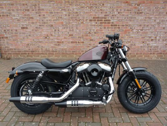 NEW 2018 XL1200X Sportster Forty-Eight in Twisted Cherry