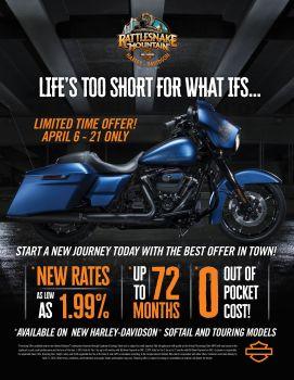 April Finance Offer