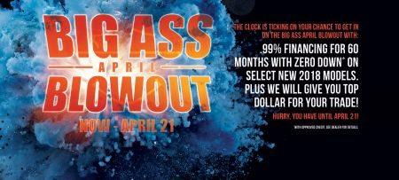 BIG ASS APRIL BLOWOUT