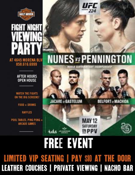 UFC 224 Fight Night