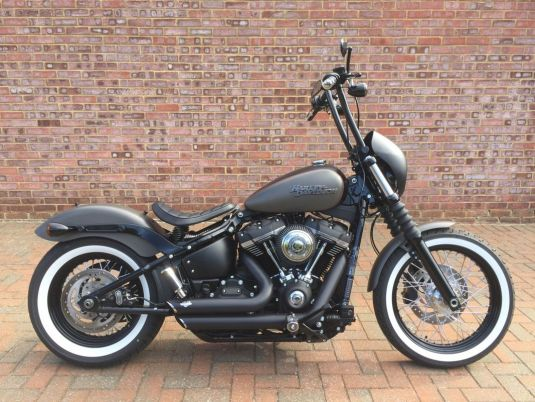 2018 FXBB Softail Street Bob Full Stage One, Apes, Just 31 miles!