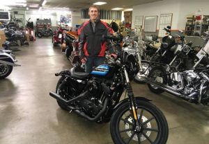 Josh and his new XL1200NS