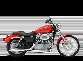 Sportster<sup>®</sup> 883 Custom - 2010 Motorcycles