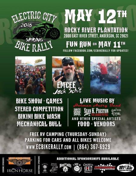 Electric City Bike Rally Timms Harley Davidson