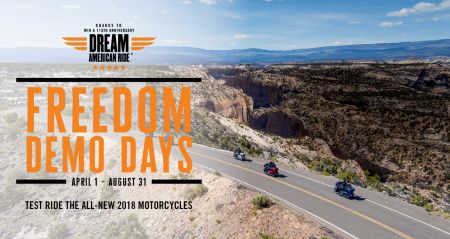TAKE A TEST RIDE AT TUSKER HARLEY-DAVIDSON -COULD WIN A 115TH ANNIVERSARY DREAM RIDE