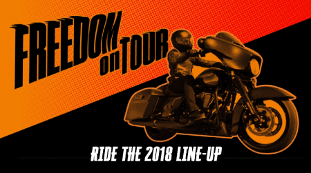Freedom on Tour 2018.