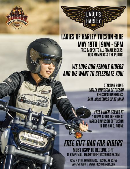 Ladies of Harley Tucson Ride