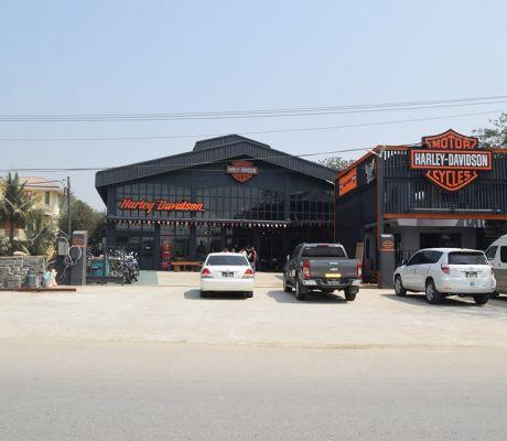 Harley-Davidson Dealership Opening At Mandalay, MYANMAR.
