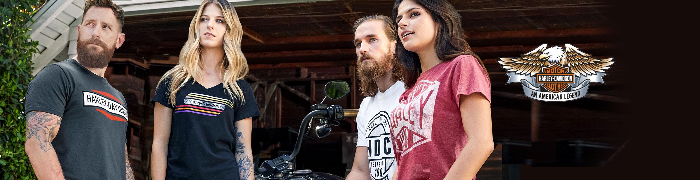 Выглядеть в стиле Harley<sup>®</sup>