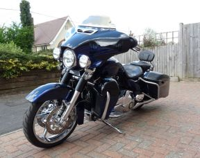 2016 FLHXSE Touring CVO Street Glide Full Stage One, Reverse Gear