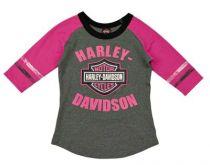 HD dievčenské tričko