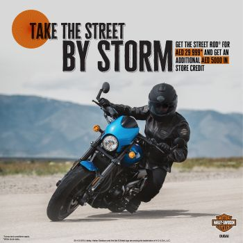 TAKE THE STREET BY STORM