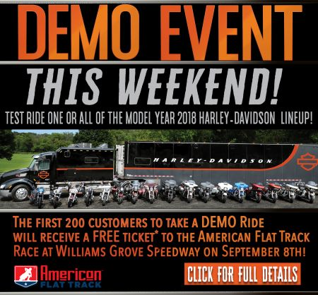 DEMO Ride Event Weekend