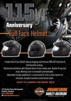 115yr Anniversary Full Face Helmet