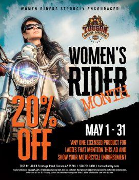 Women's Rider Month!