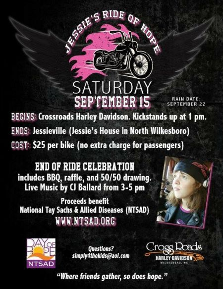 Jessie Ride of Hope