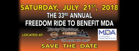 33rd Annual Freedom Ride to Benefit MDA