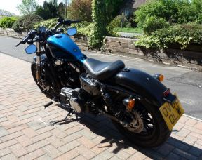 2016 XL1200X Sportster Forty-Eight Cancun Blue Flake