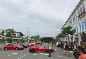 Ferrari owners visit Harley Melaka – 03/03/2018