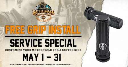 Free Grip Install all MAY long!