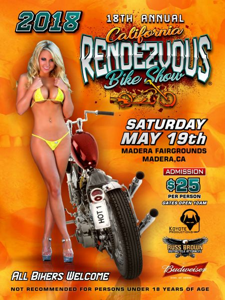 2018 California Rendezvous Bike Show