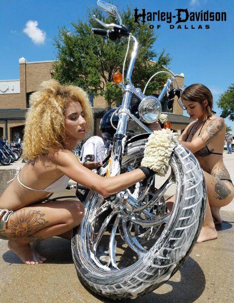 Bikini Bike Wash